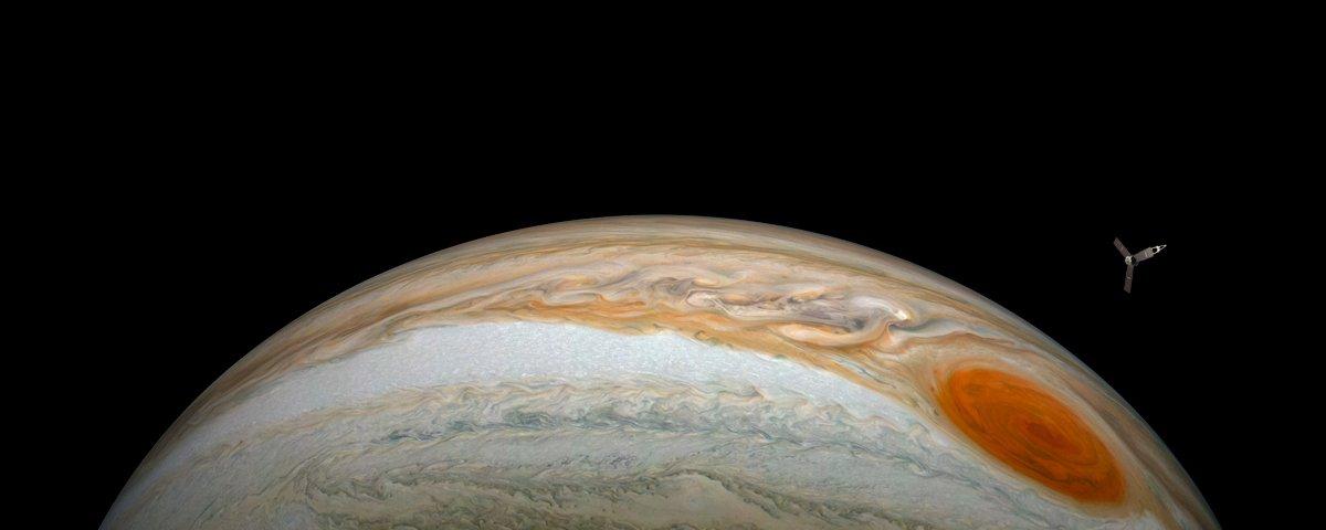 Sonda Juno mostra que ar de Júpiter tem mais água do que se pensava