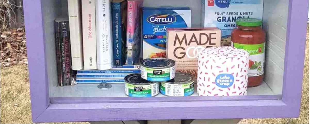 Coronavírus: americanos doam comida em bibliotecas comunitárias