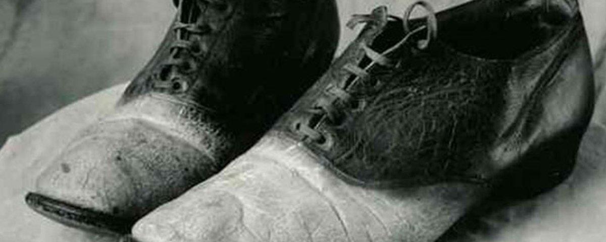 George Parrott, o homem transformado em sapatos