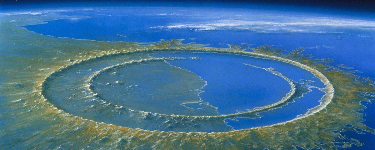 Ângulo e lugar de impacto fizeram asteroide dizimar vida na Terra