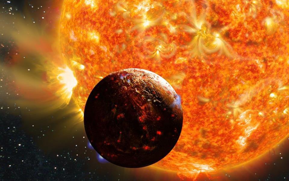 Cientistas descobrem versão infernal do planeta Terra
