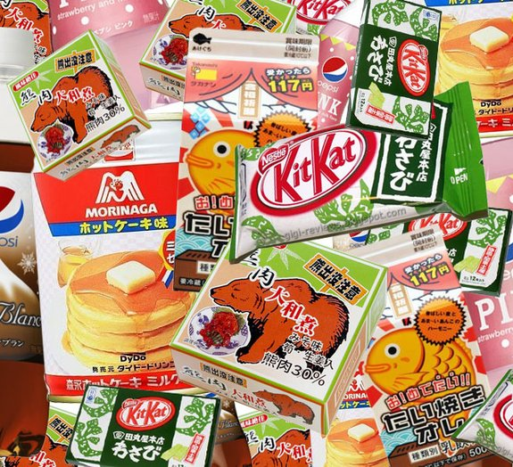 Veja alguns alimentos com sabores um tanto bizarros no Japão