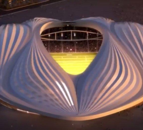 Estádio para a Copa de 2022 tem formato semelhante ao de uma vagina [vídeo]