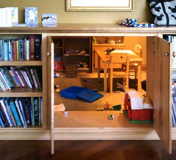 Quem disse que as estantes para livros precisam ser sem graça?
