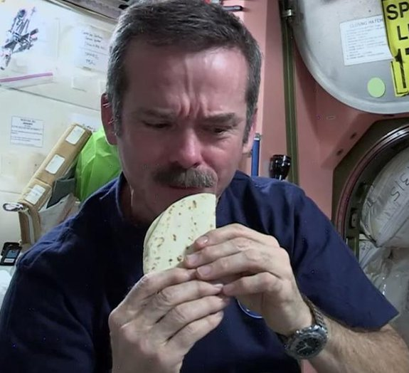 Astronauta ensina como fazer sanduíches no espaço [vídeo]