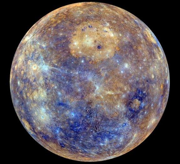 NASA divulga imagem de Mercúrio como você nunca viu