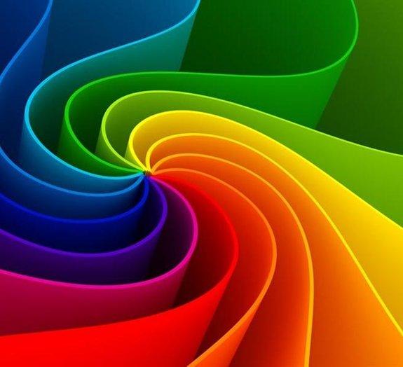 Gráfico relaciona cores com os sentimentos que elas podem transmitir