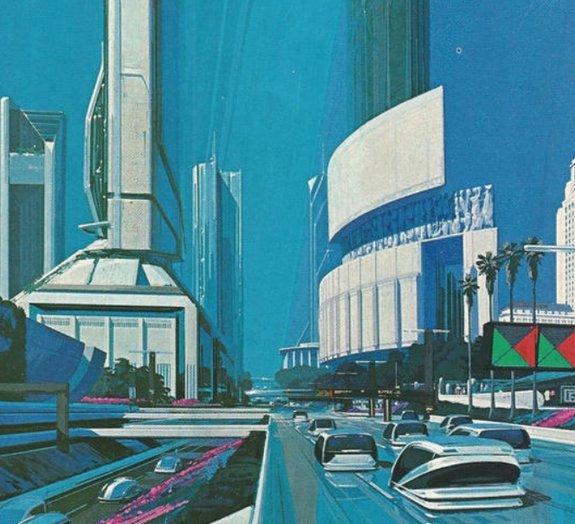 Veja como os arquitetos de 1988 imaginavam a cidade de Los Angeles de 2013