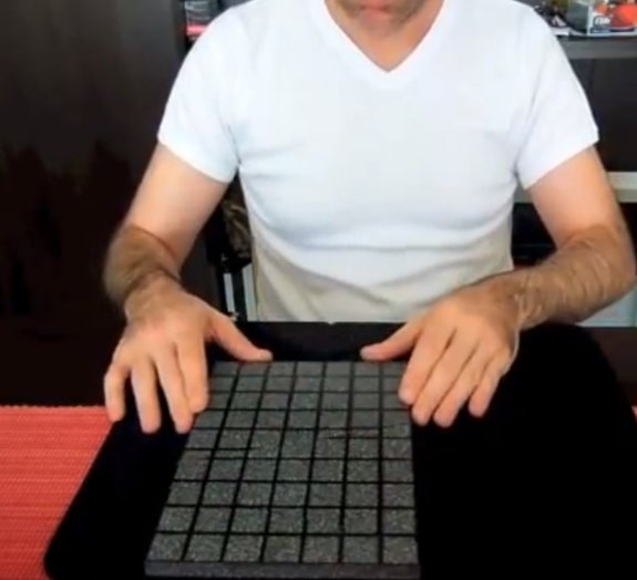 Ilusionista posta incrível vídeo de mágica feita com azulejos [vídeo]
