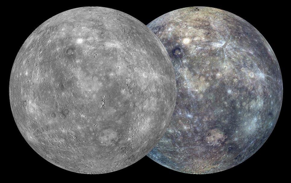 NASA finaliza mapeamento completo da superfície de Mercúrio
