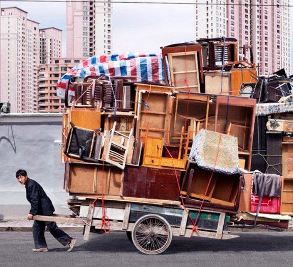 7 imagens surpreendentes de chineses 'equilibristas'