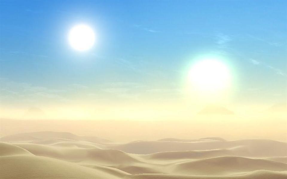 Astrônomos podem ter fotografado planeta que se parece com Tatooine