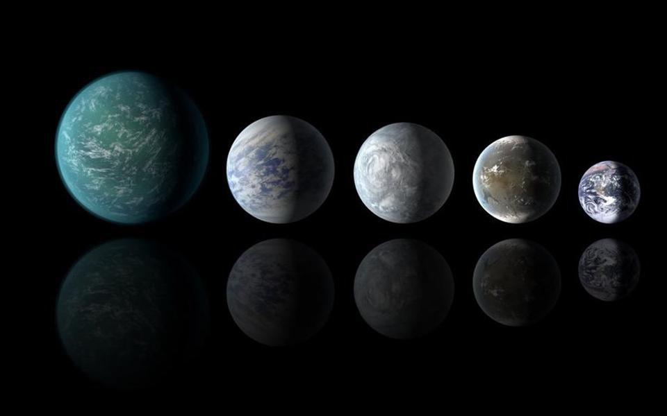 NASA descobre três planetas possivelmente habitáveis