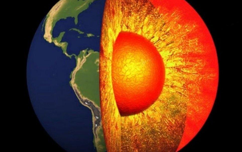 Temperatura do centro da Terra é mais alta do que imaginávamos