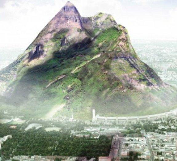 Arquiteto alemão planeja criar a montanha artificial mais alta do mundo