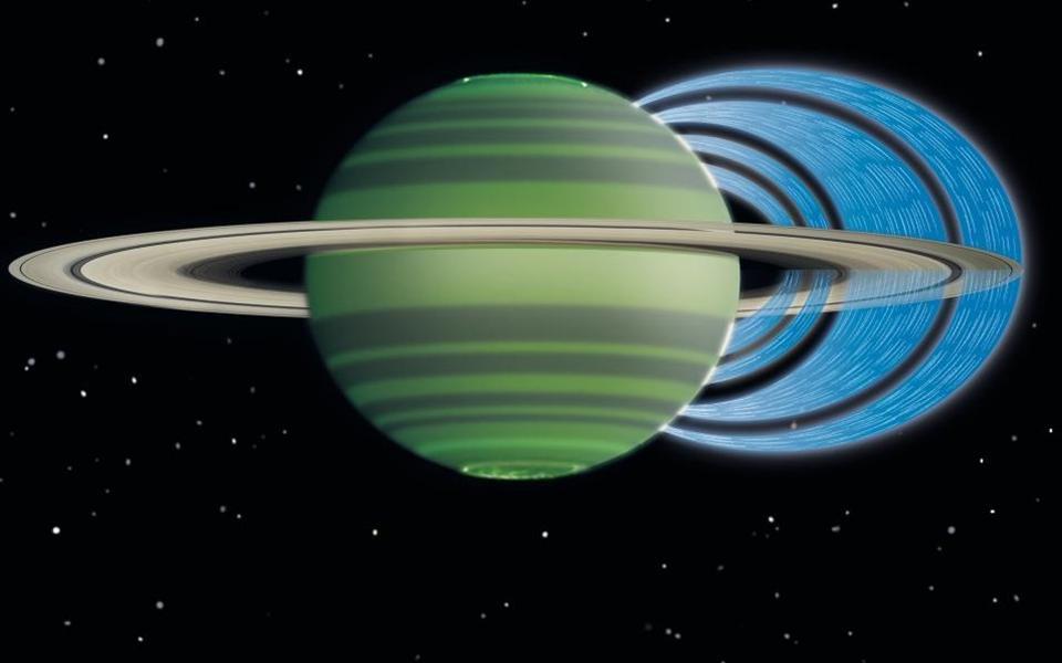 Cientistas descobrem imensa chuva vinda dos anéis de Saturno!