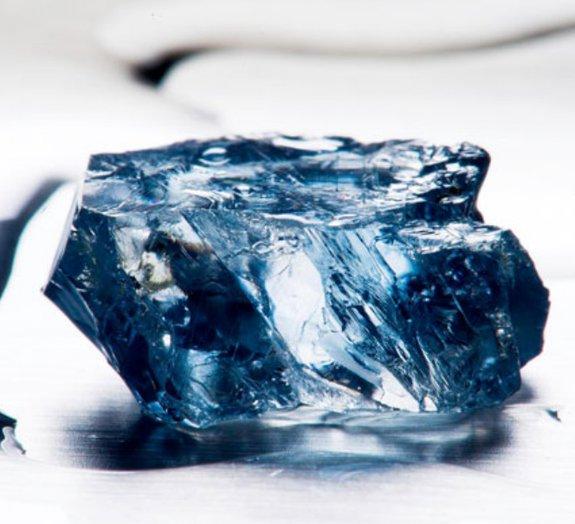 Diamante azul de US$ 10 milhões é encontrado na África do Sul