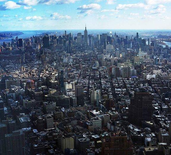 Confira as vistas inacreditáveis dos prédios mais altos do mundo