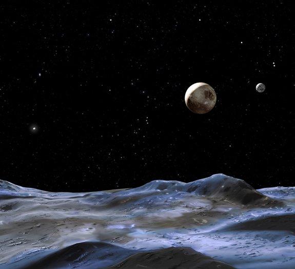 Plutão vai completar a sua primeira órbita ao redor do Sol apenas em 2178