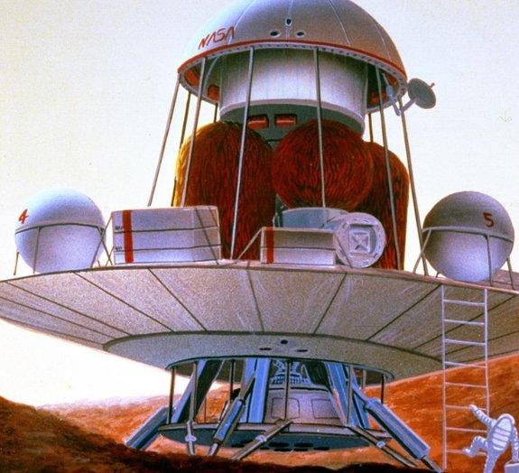 Como a NASA imaginava a chegada de homens a Marte há quase 30 anos?
