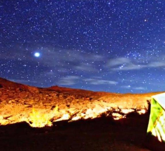 Vídeo surpreendente revela como são as noites no Vale da Morte