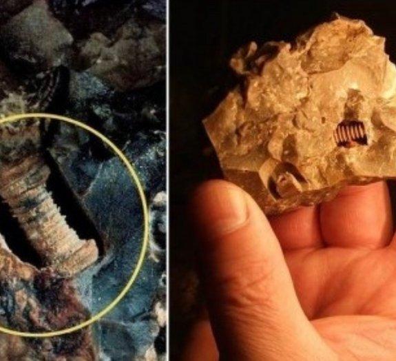 Pesquisadores afirmam ter encontrado parafuso de 300 milhões de anos