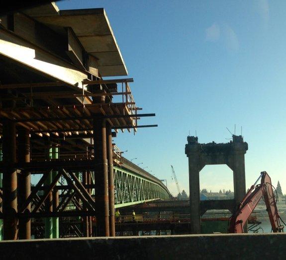 Como mover uma ponte inteira de lugar?