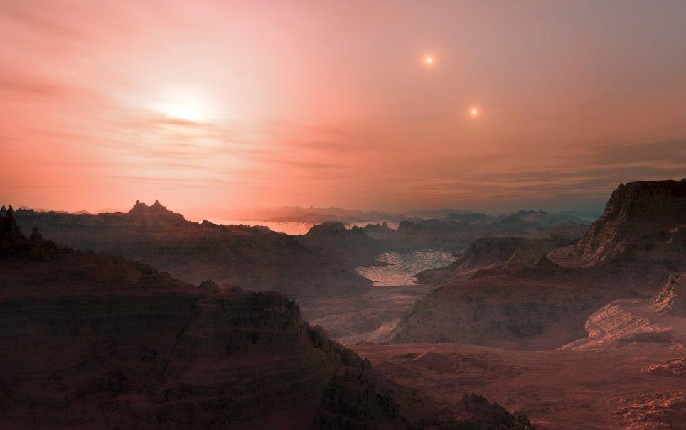 Órbita da estrela Gliese 667C pode ter três planetas habitáveis