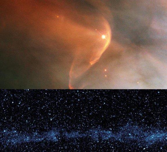 Você sabia que o Sistema Solar deixa um rastro no espaço?
