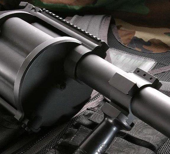 Bizarro: lança-granadas é apreendido no interior do Paraná