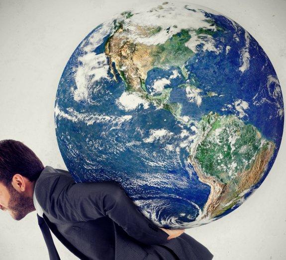 É possível determinar quanto o nosso planeta pesa?