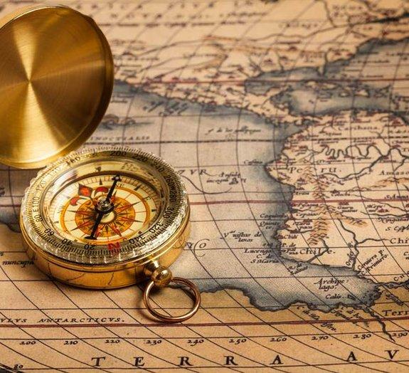 Você sabe por que é que o norte sempre fica no topo dos mapas?