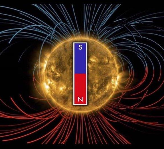 Polos magnéticos do Sol podem sofrer inversão nos próximos meses