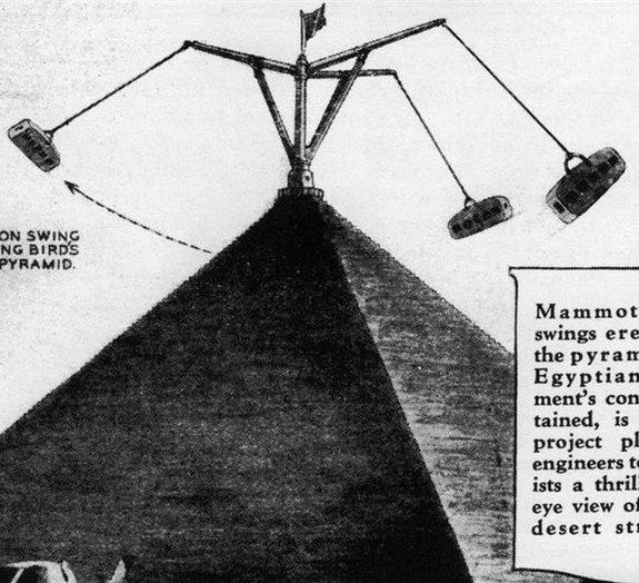Veja o projeto de transformar as pirâmides do Egito em parque de diversões