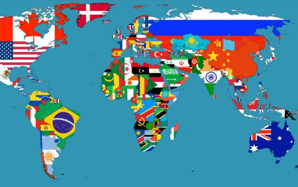 o mapa do mundo Confira 15 mapas que vão fazer você entender melhor o mundo   Mega  o mapa do mundo