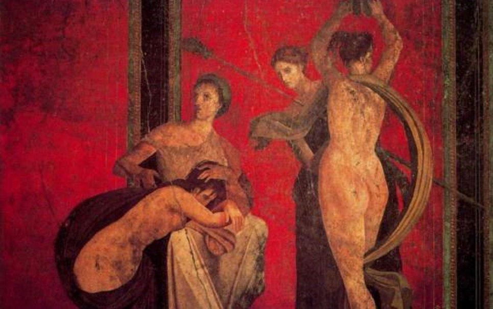 Em Pompeia existem grafites obscenos de quase 2 mil anos