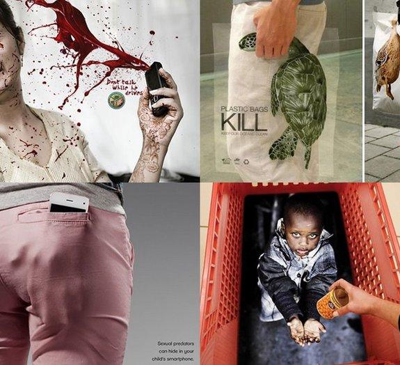 Confira alguns anúncios publicitários sociais criativos e chocantes