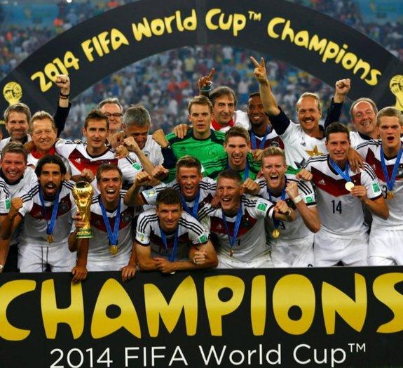 Companhias homenageiam vitória da Alemanha na Copa do Mundo 2014