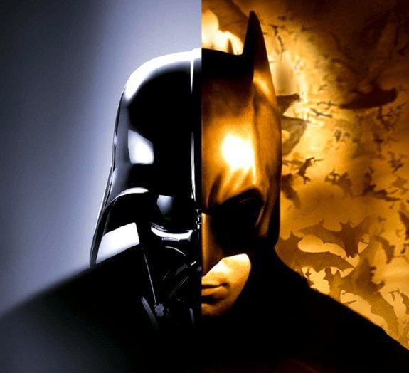 Crossover de Batman e Star Wars? Produções trocam imagens divertidas
