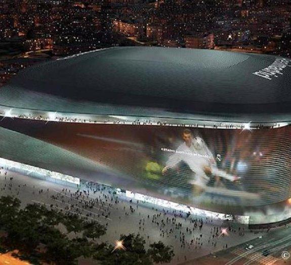 Estádio do Real Madrid ganha projeto futurista ousado [vídeo]