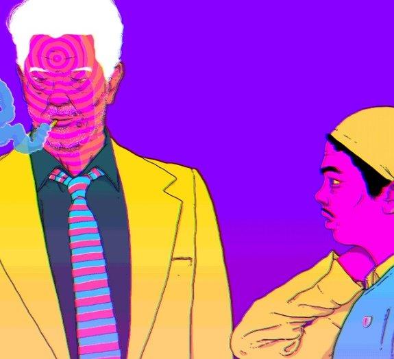 Ilustrador brasileiro cria seleção multicolorida de GIFs psicodélicos