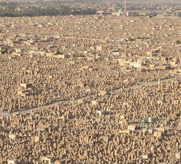 Você sabe qual é o tamanho do maior cemitério do mundo?