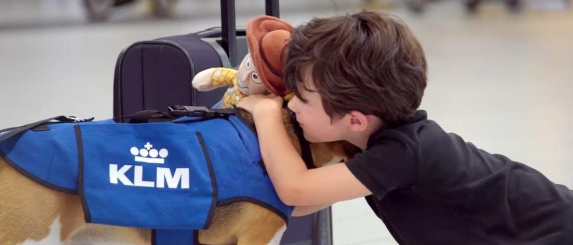 Empresa usa cachorro para achar dono de objeto perdido em aeroporto [vídeo]