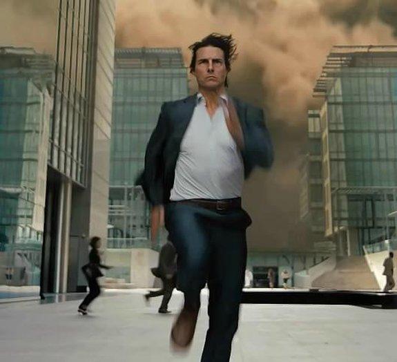 Tom Cruise grava cenas de alto risco para Missão Impossível 5: imagens
