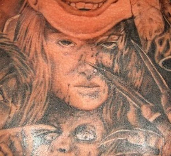 Espante-se com estas 11 tatuagens inspiradas em filmes de terror