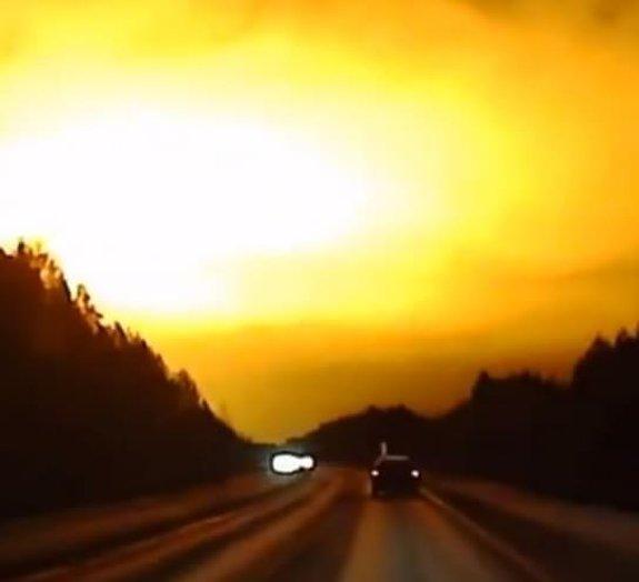 Novo meteorito? Câmeras registram explosão espetacular no céu da Rússia