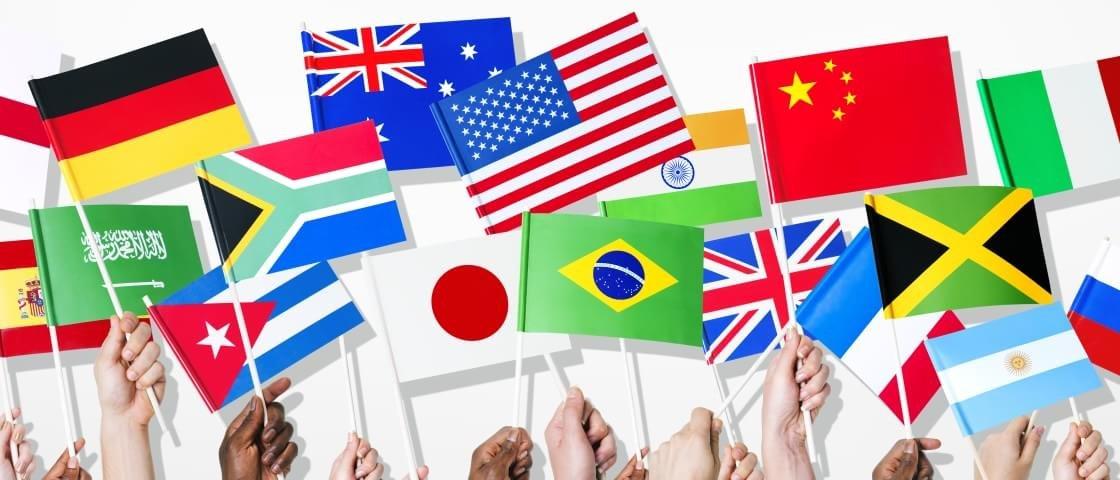 Sabia que 64 países têm símbolos religiosos em suas bandeiras nacionais?