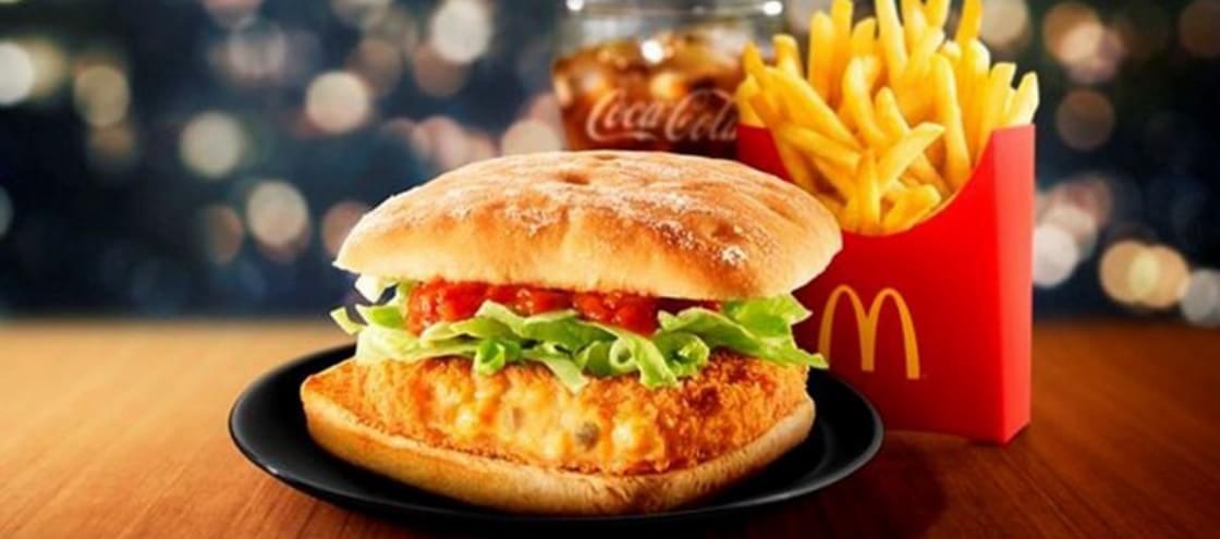 McDonald's lança sanduíche de caranguejo no Japão