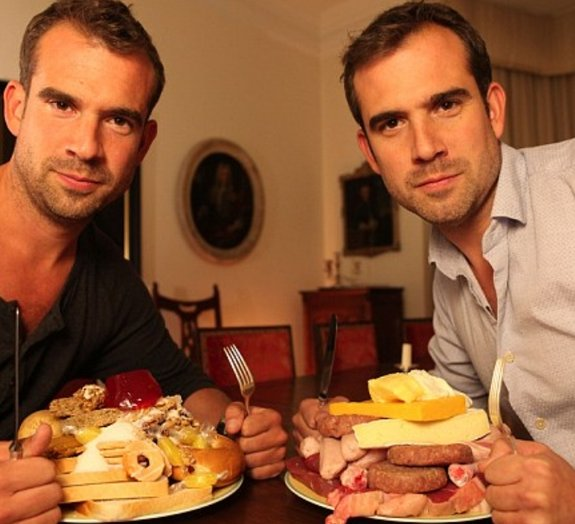 Gêmeos idênticos decidem pôr à prova a eficiência de dietas da moda