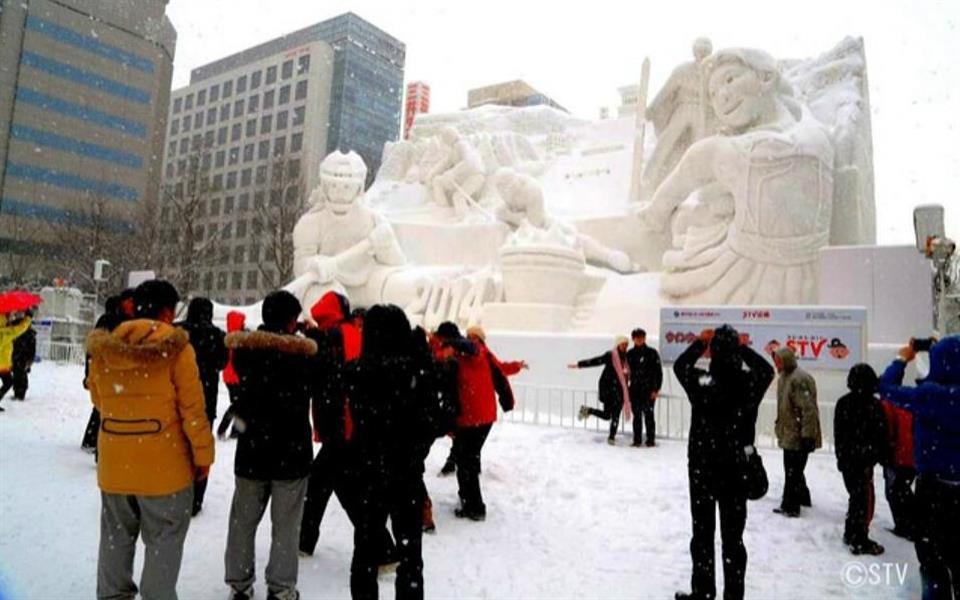 Confira as esculturas mais legais do Festival da Neve no Japão [galeria] - Mega Curioso